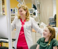 staff and patient-Larson Orthodontics-Alexandria VA-smilesbylarson.com63
