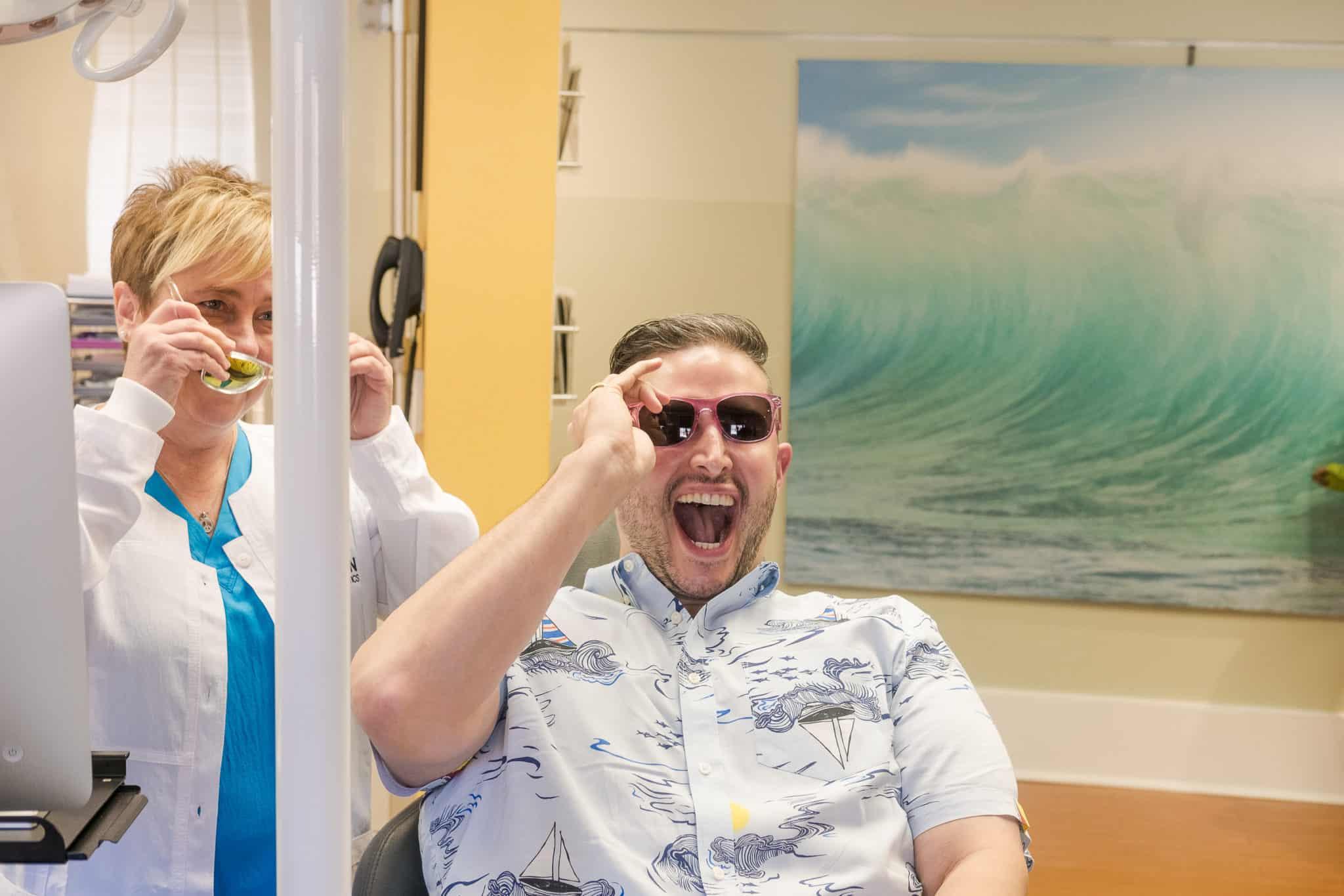 staffandpatient LarsonOrthodontics AlexandriaVA smilesbylarson.com381 2048x1365 - Larson Orthodontics Patient Rewards Program