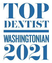 Top Dentist Washintonian 2021 - 3M Clarity Clear Braces