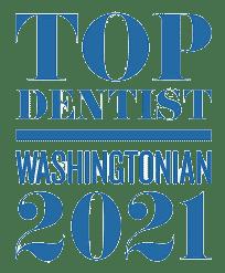 Top Dentist Washintonian 2021 - 3M Clarity Clear Braces