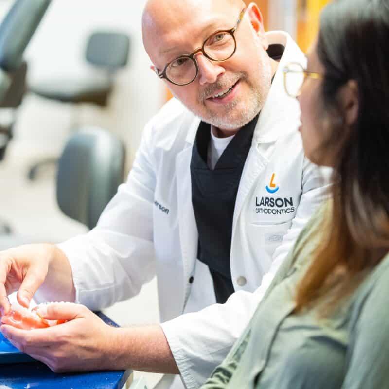 Doctor Candids Larson Orthodontics Alexandria Virginia 2021 20 800x800 - Meet Orthodontist Dr. Larson