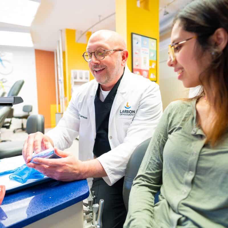Doctor Candids Larson Orthodontics Alexandria Virginia 2021 35 800x800 - Meet Orthodontist Dr. Larson