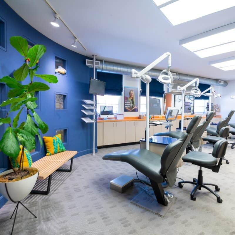 Office Interior Larson Orthodontics Alexandria Virginia 2021 31 800x800 - Our Orthodontic Office