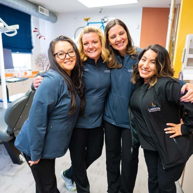 Staff Candids Larson Orthodontics Alexandria Virginia 2021 123 800x800 - The Larson Team