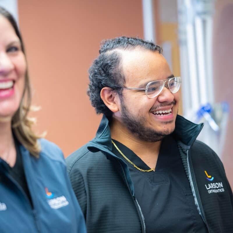 Staff Candids Larson Orthodontics Alexandria Virginia 2021 23 800x800 - The Larson Team