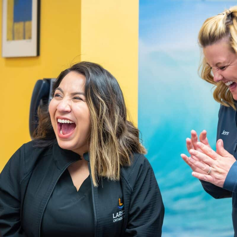 Staff Candids Larson Orthodontics Alexandria Virginia 2021 28 800x800 - The Larson Team